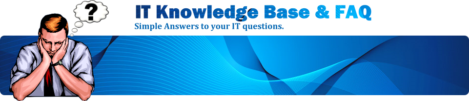 IT Knowledge Base & FAQ