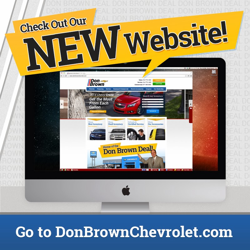 NEW Don Brown Website Is LIVE!