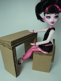 Lolas Mini Homes Monster High Dorm Room Part 6 The Vanity