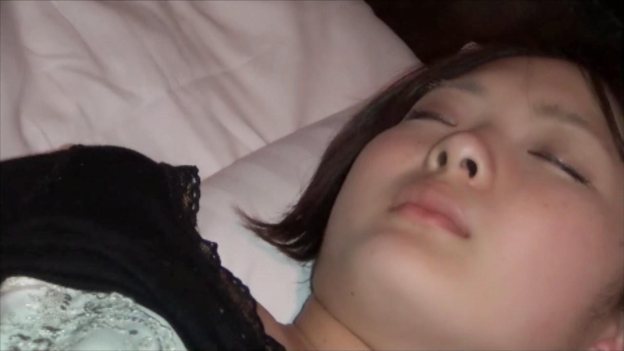 Cute girl violated while sleeping