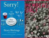 Sorry! by Henry Hitchings, Members Only by Julie Tibbott