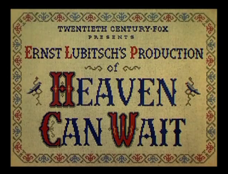heaven can wait cross stitch lubitsch el diablo dijo no punto cruz