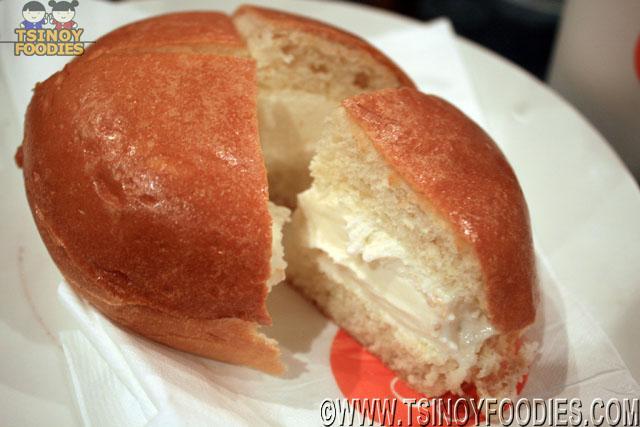pandan gelato burger