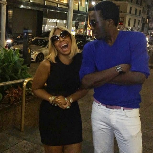 Comedian Bovi Spotted With Ashanti