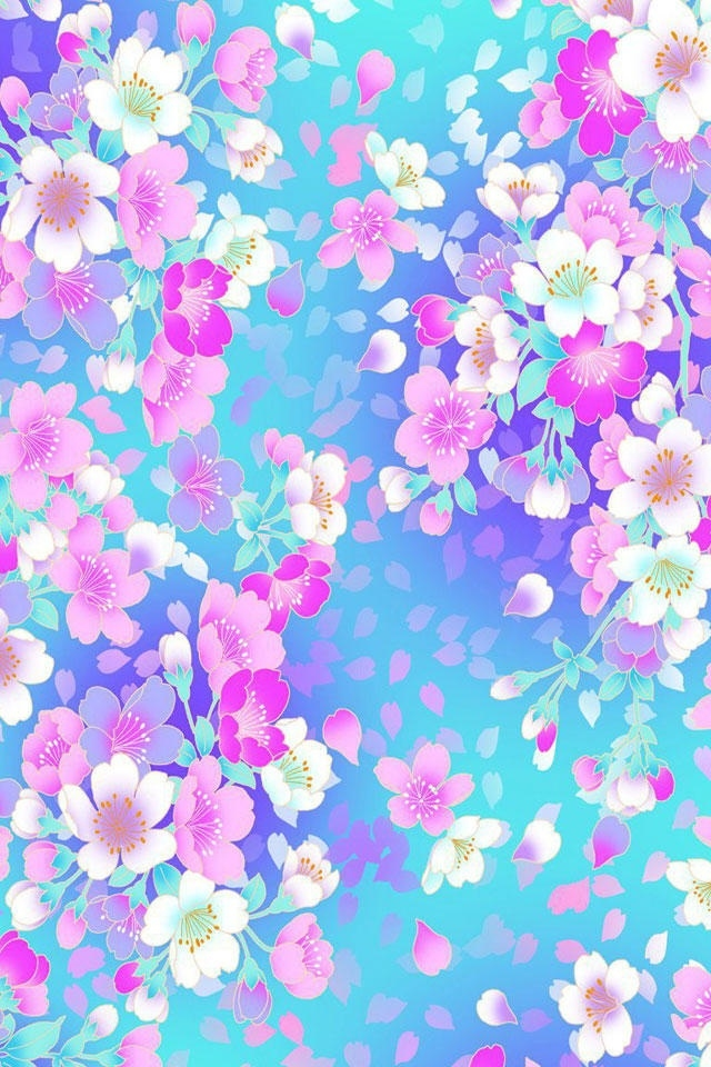 free iphone wallpapers hd awesome colorful flowers iphone