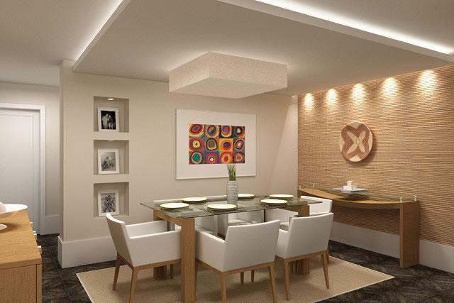 Teto Em Gesso Para Sala De Jantar ~ sala+de+jantar+decorada+em+gessoelegance+gessojpg