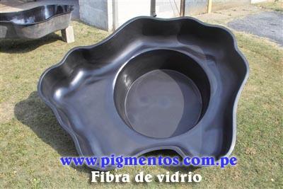 Pigmentos para fibra de vidrio fiberglas per chile for Fiberglass garden ponds