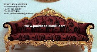 Jual mebel klasik supplier wooden frame sofa ukir klasik mahoni sofa ukir mewah jepara