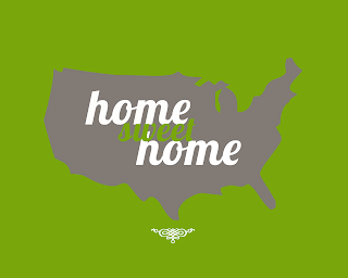 Home Sweet Home Poster green