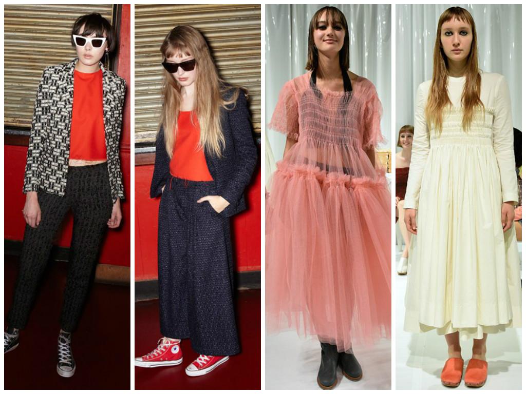 Le Kilt SS16 and Molly Goddard SS16 at London Fashion Week LFW