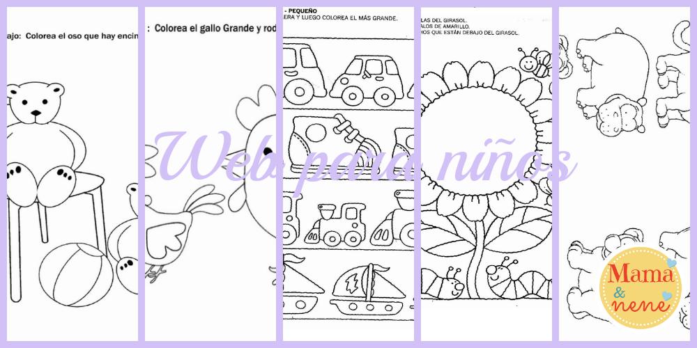 Mami - miss #14: Imprimibles para preescolar: bebés y niños pequeños ...