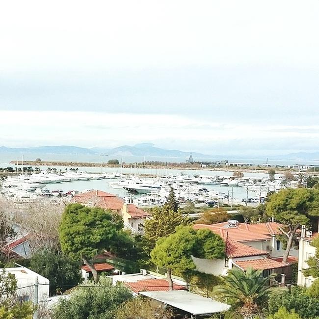 Jelena Zivanovic Instagram @lelazivanovic.Glam fab week.Glyfada Athens, view on port.