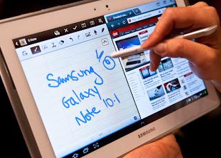 stylus khusus besutan Samsung yang diberi nama S-Pen