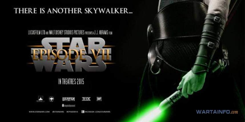 Star wars: episode vii poster film barat terbaru di bioskop yang rilis