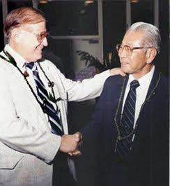 Rep. Souki and Sen. Yamasaki