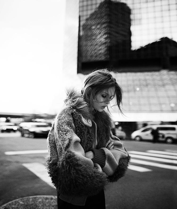 New york new york josephine skriver by riccardo for A k a cedric salon nyc