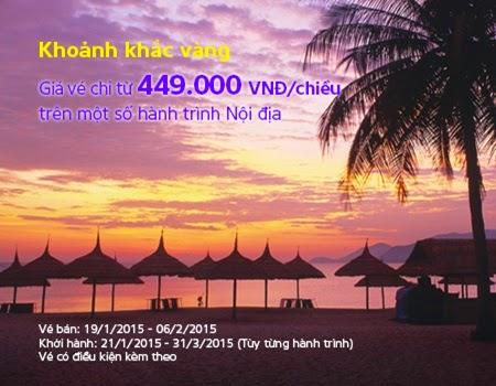 Chương trình khoảnh khắc vàng với giá 499.000 VND