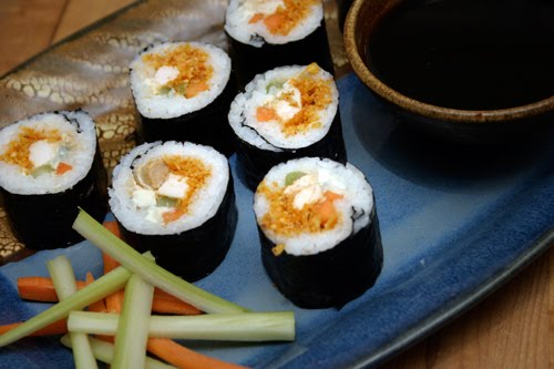 Buffalo Chicken Sushi