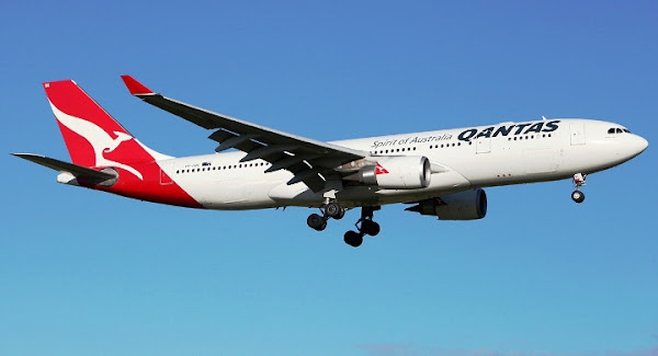 Qantas, Airbus A330-200. ZonaAero