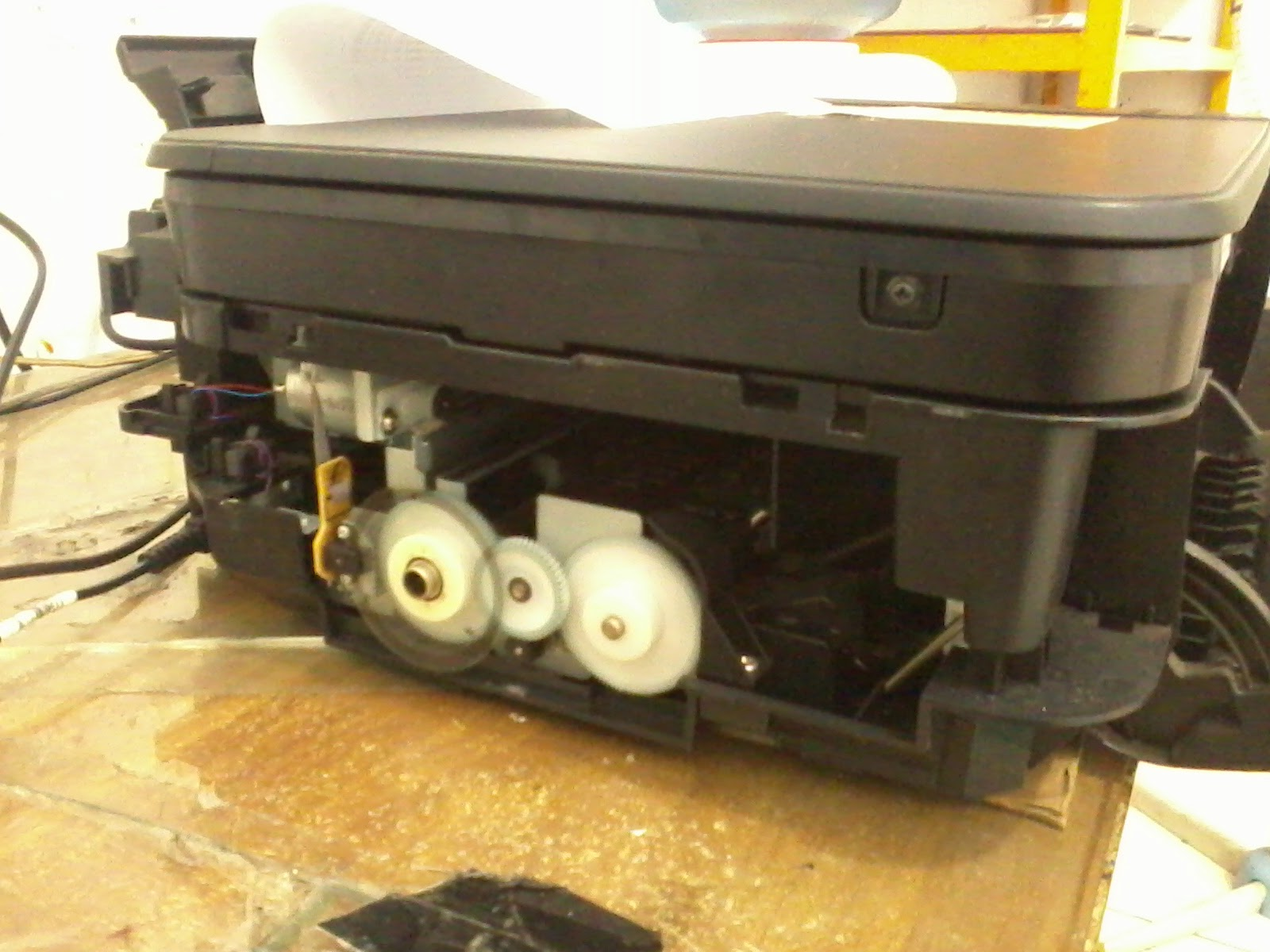 Mengatasi Error P02 Pada MP287