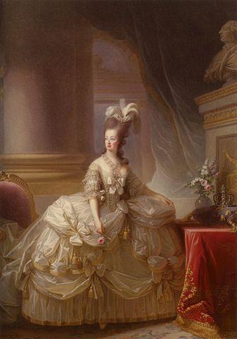 Retrato de María Antonieta Reina de Francia en 1788  Obra de  Louise Élizabeth Vigée