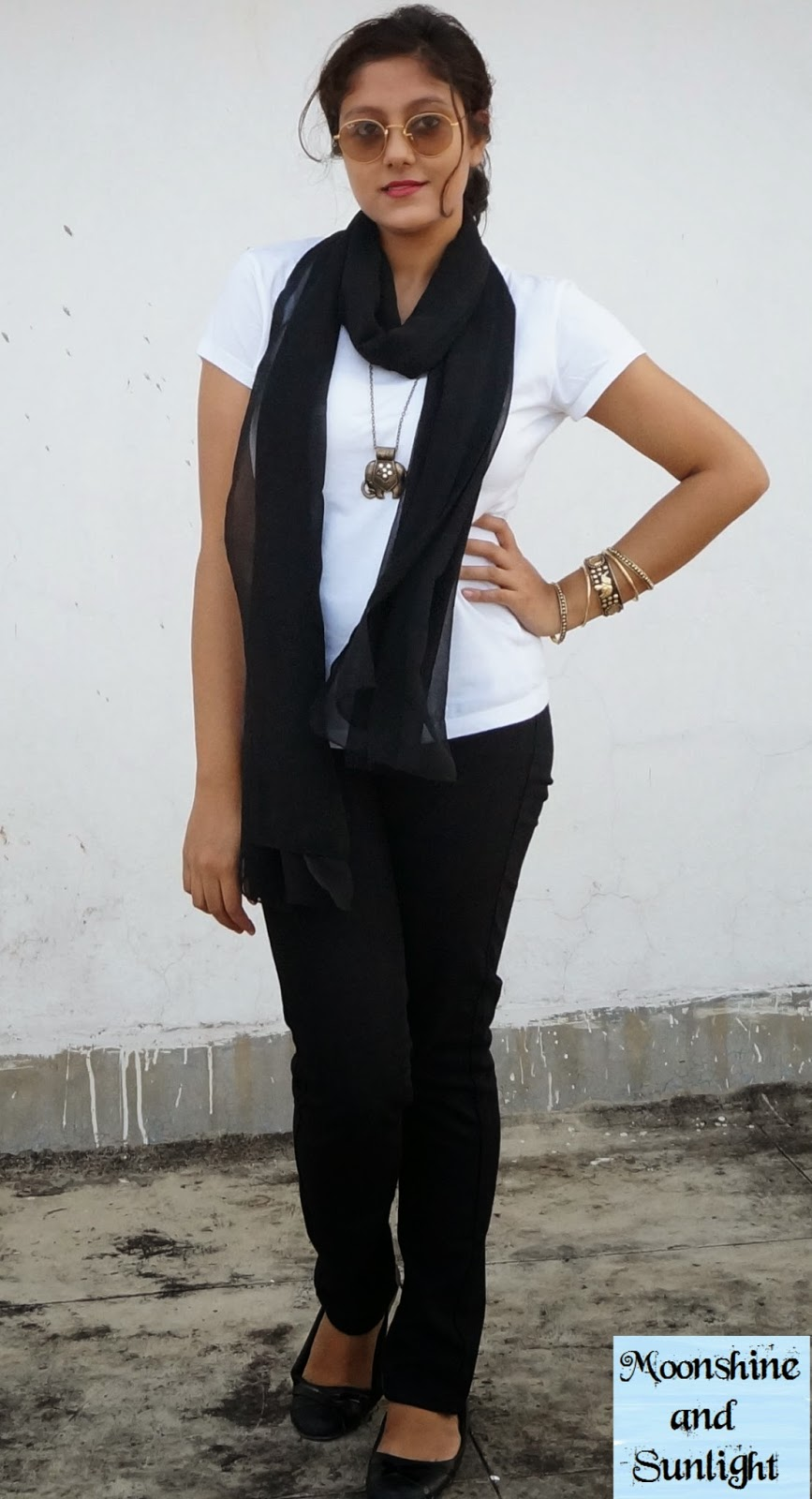 Indian Fashion blog - First OOTD First shades