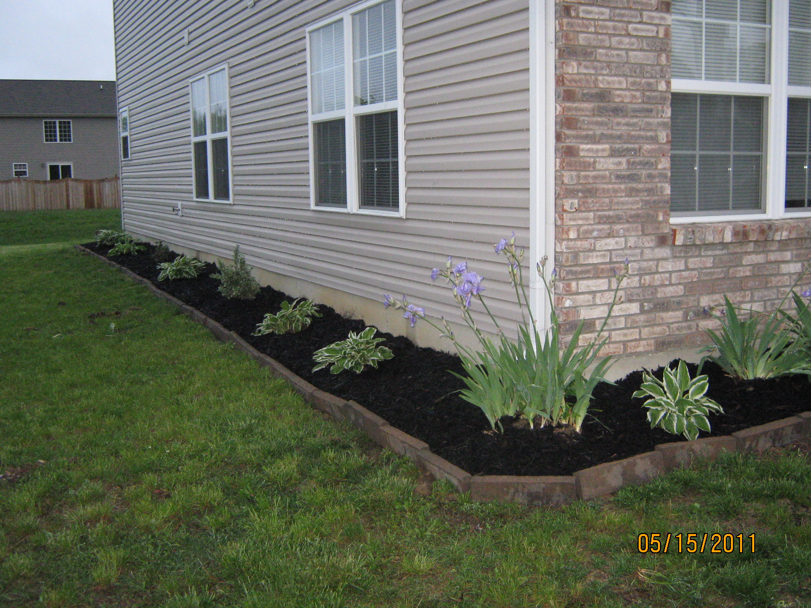 Landscaping Around The House : Chase n our dreams weekend landscaping