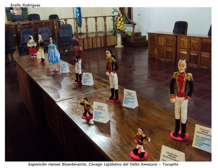 2da Exposición Itinerante Consejo lejislativo de el Estado Delta Amacuro, Tucupita - Venezuela.