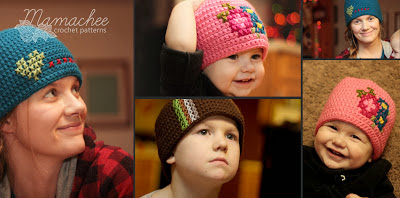 free crochet pattern cross stitch hat