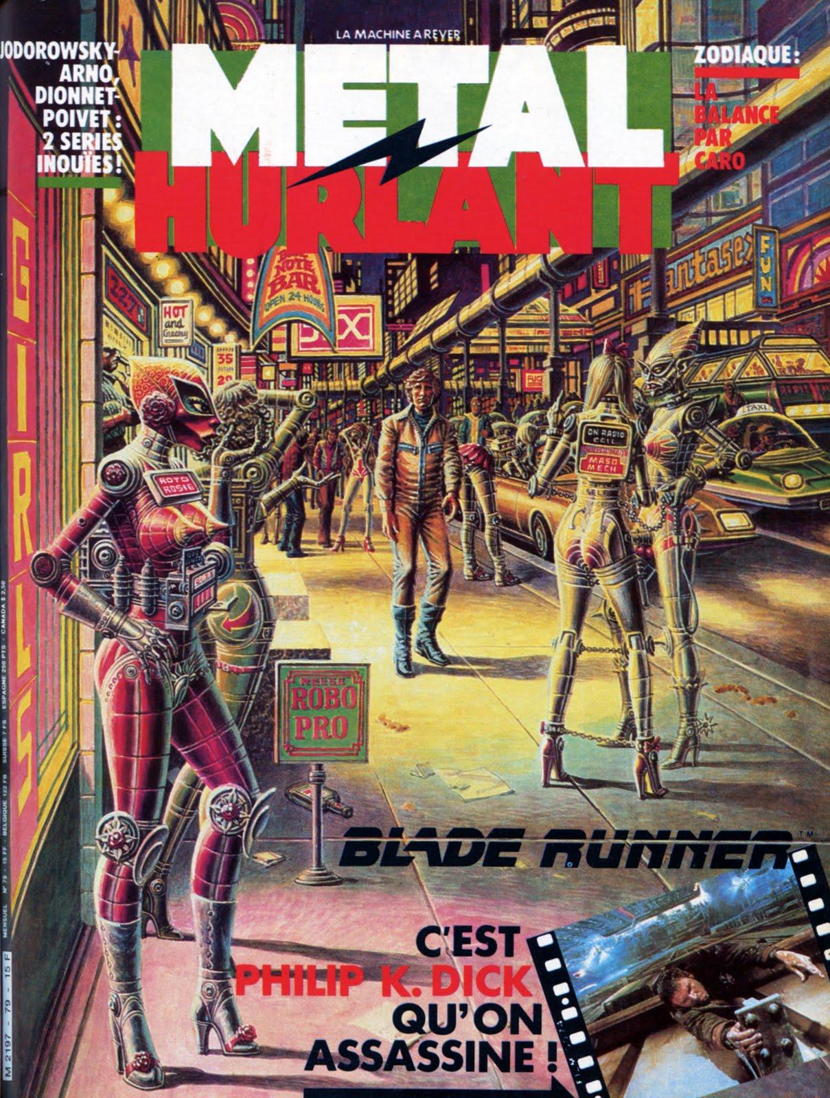 METAL HURLANT (Sept 1982) Blade Runner Metal+hurlant+no.77.78.79.80.81.82+-+3+-+78+Cover
