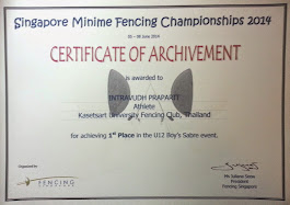 1st Place U-12 Singapore 2014