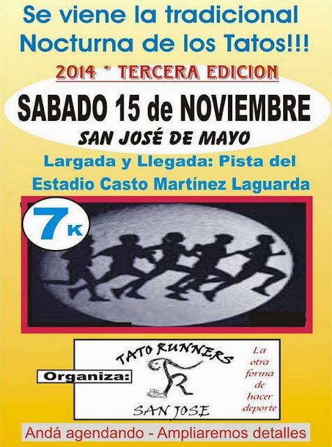 7k Corrida nocturna de San José (15/nov/2014)