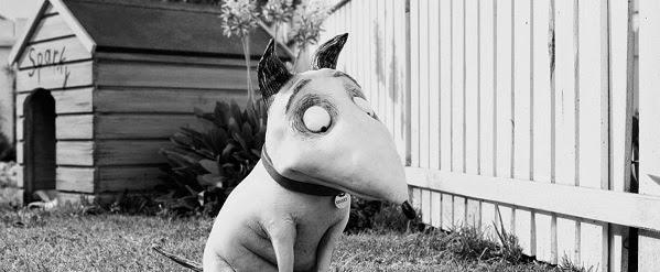 frankenweenie sparky chispas tim burton garden house dog