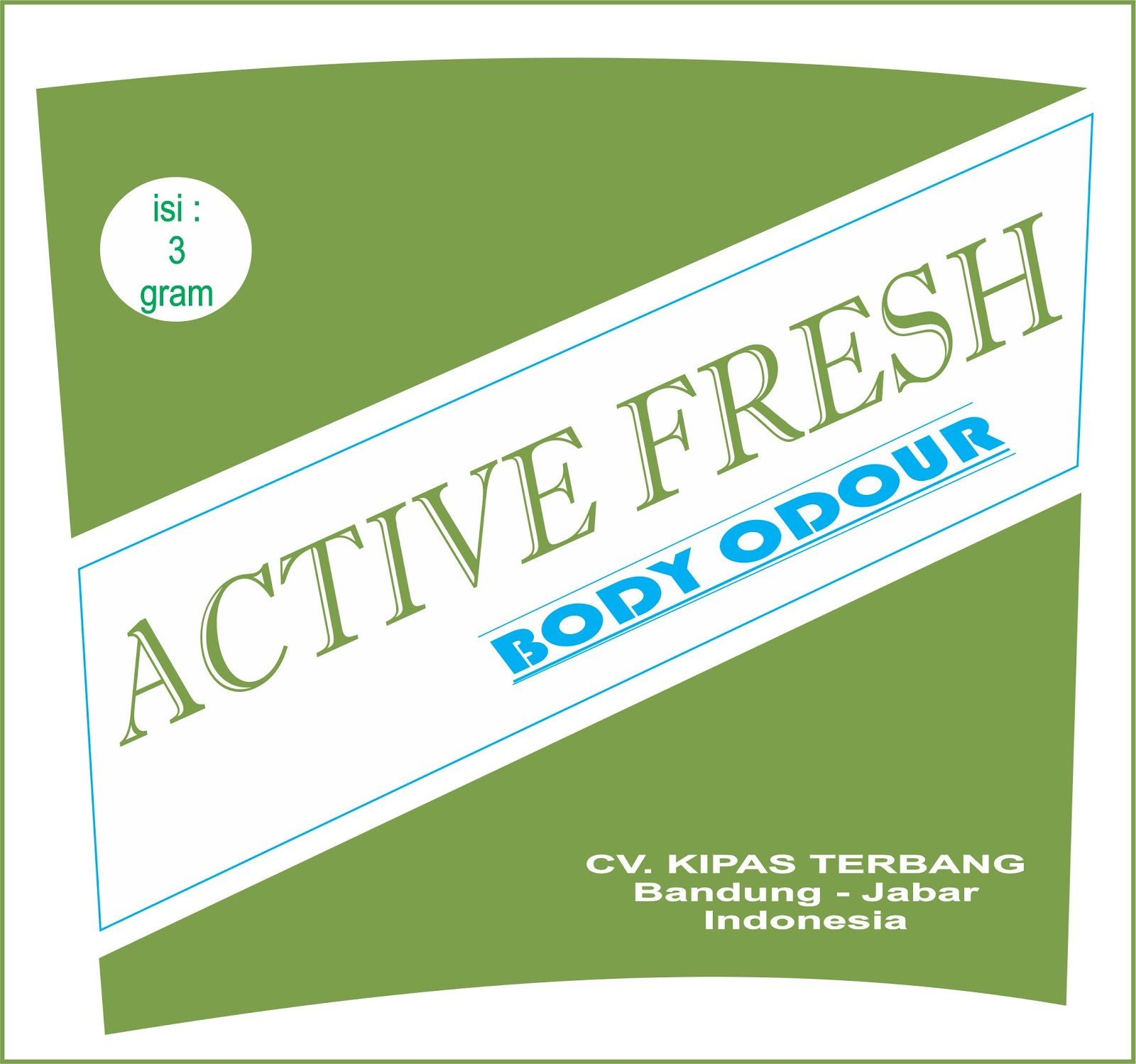 ACTIVE FRESH Crystal Body Odour
