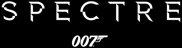 SPECTRE Official 007 Title Artwork Black