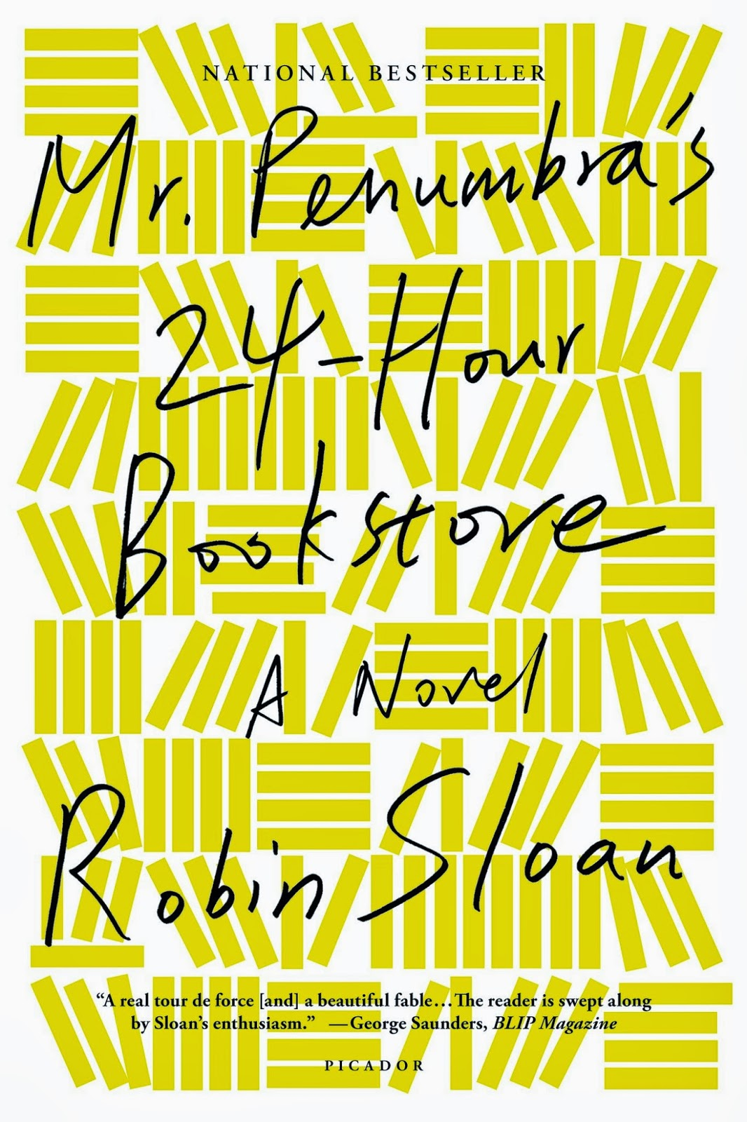 book review, Mr Penumbra's 24 hour bookstore