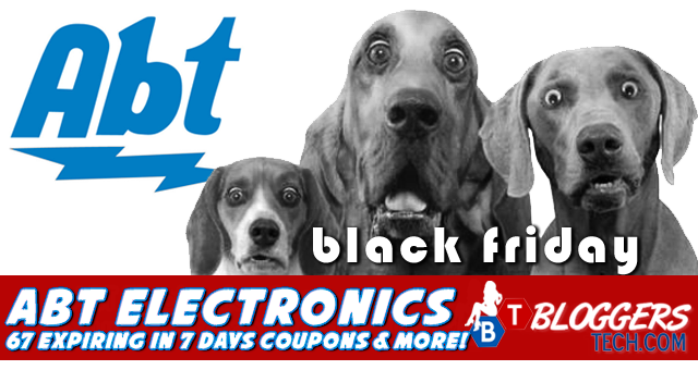 Abt Electronics Black Firday and 67 Expiring in 7 Days Coupons and more!
