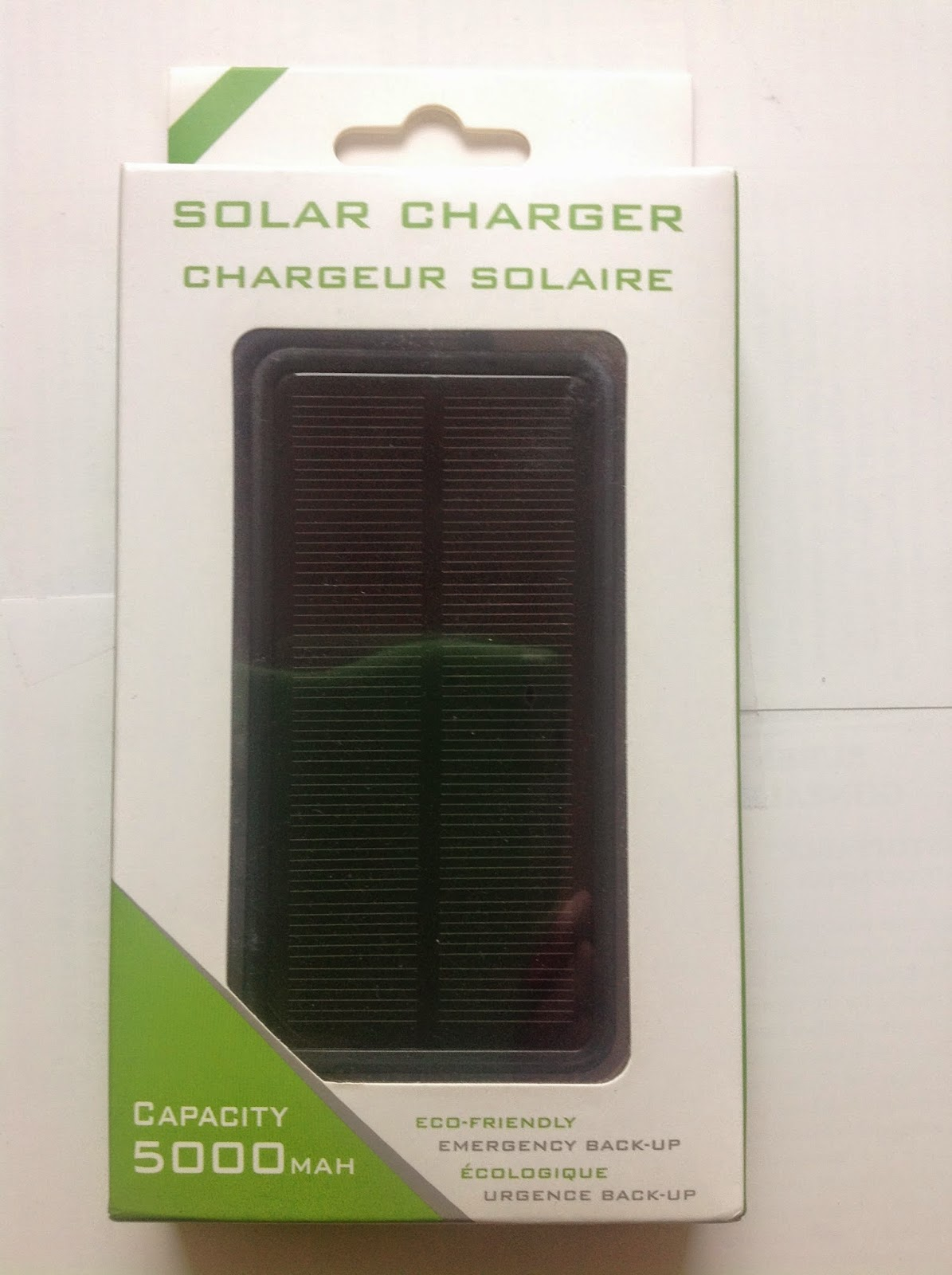.: Product Review: Solar Charger from Day Tech