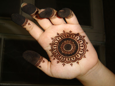 Mehndi Designs For Fingers Step By Step : Henna designs for hands arabic kids easy step by simple