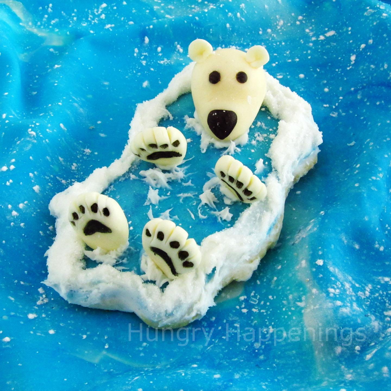 Back Float Bear Cookies... floating along in the deep blue sea.