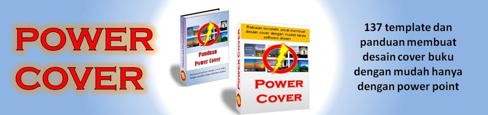 POWER COVER (Template dan Panduan Membuat Desain Cover Buku dengan Mudah)