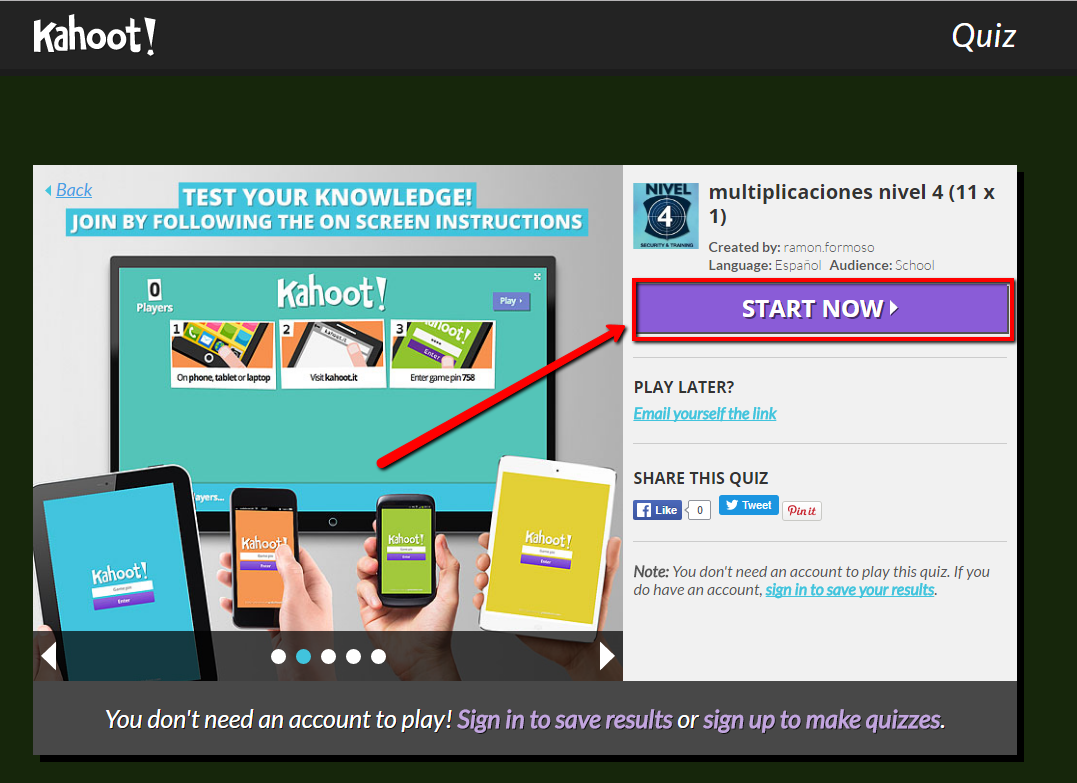 Kahoot! Help  Frequently Asked Questions