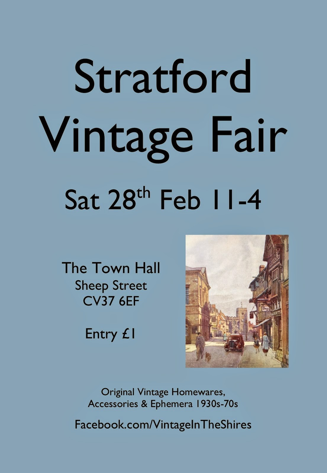 The Stratford Vintage Fair