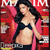 Deepika Padukone sexy poses on Maxim Magazine (August 2011)