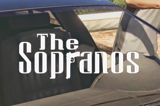 The Sopranos, Grand Theft Auto, intro sequence