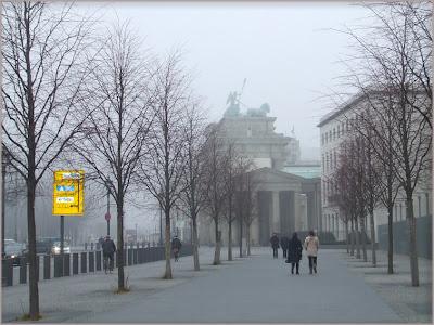 Berlino nella nebbia
