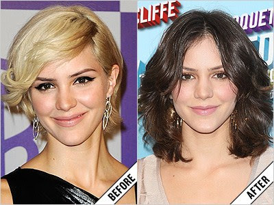 katharine mcPhee before and after makeover 11 amazing new celebrity makeovers 2011
