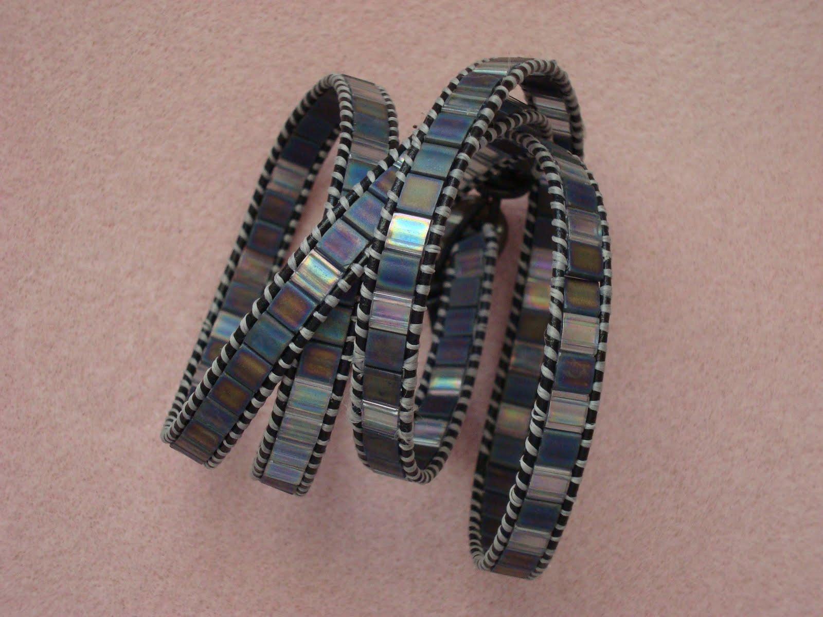 sewfast beader tila bracelet