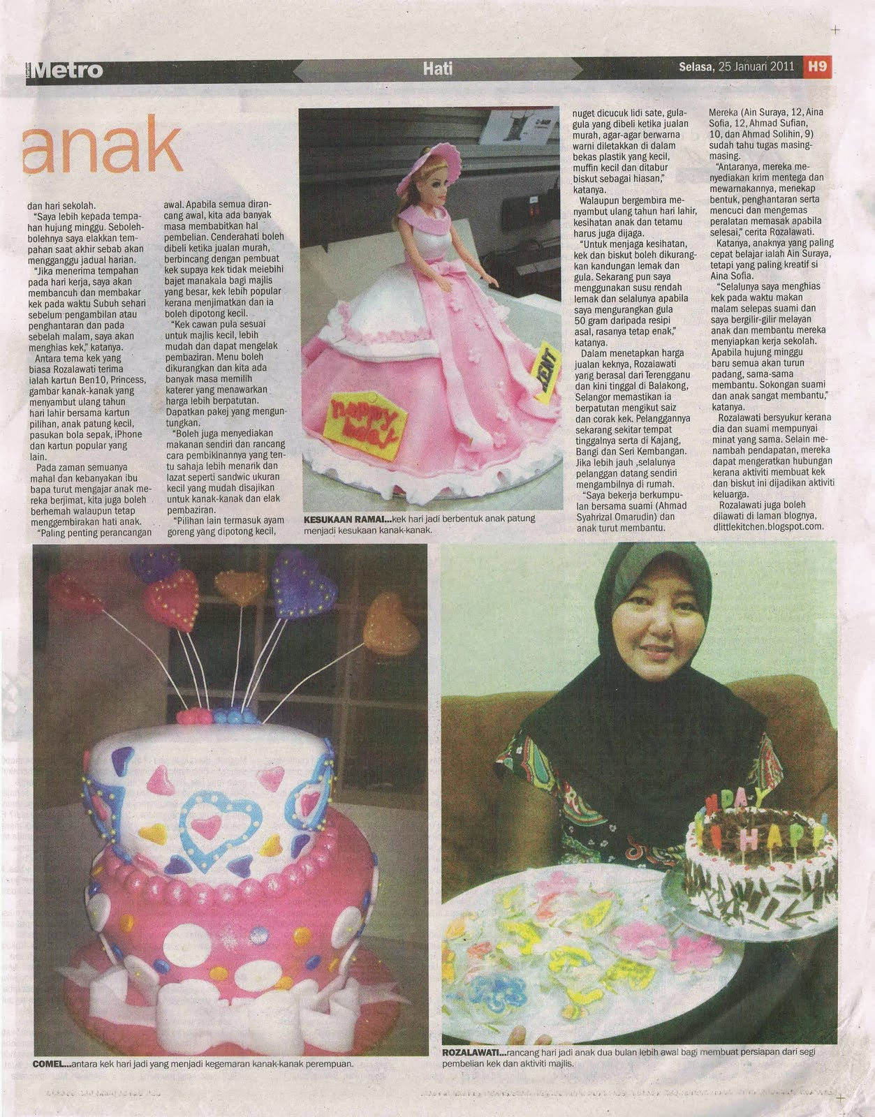 d'little kitchen in Harian Metro I