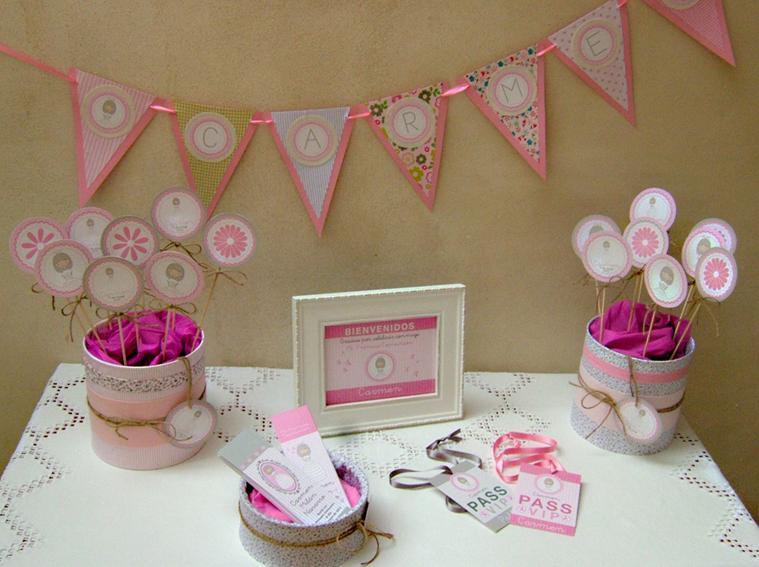 Party decora - Decoracion de mesa para comunion ...